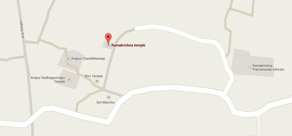 RKM Antpur - Map